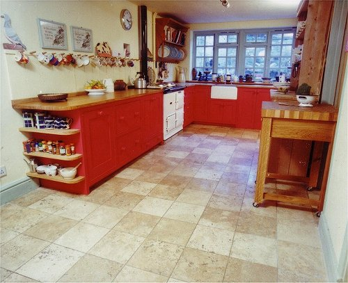 Painted Oak Fitted Kitchen